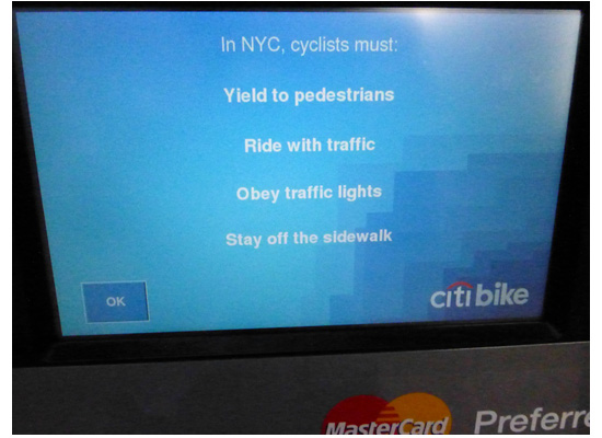 Citibike NYC, Manhattan biking, west side highway, NYC