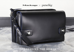 Introducing the Mackage x PurseBlog Nomad Bag