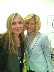 Judi with Jessica Seinfeld